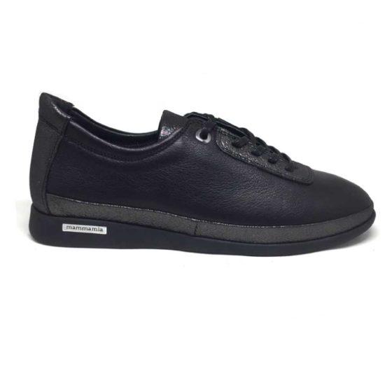 Mammamia D20YA-3315 Siyah Kadın Ayakkabı
