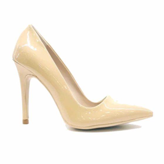 Pudra Kadın Stiletto Ayakkabı
