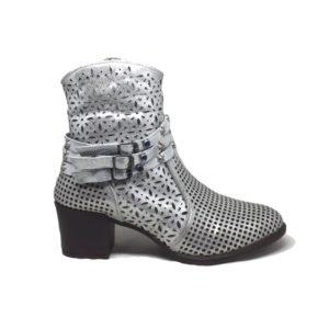 Mammamia D20YA-4510 Hakiki Deri Beyaz Kadın Ayakkabı