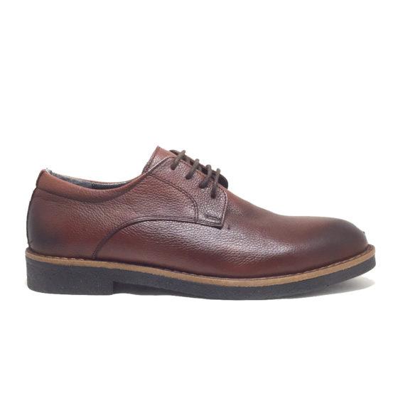 K0020B ERSÖZ Hakiki Deri Kahverengi Erkek Klasik Ayakkabı