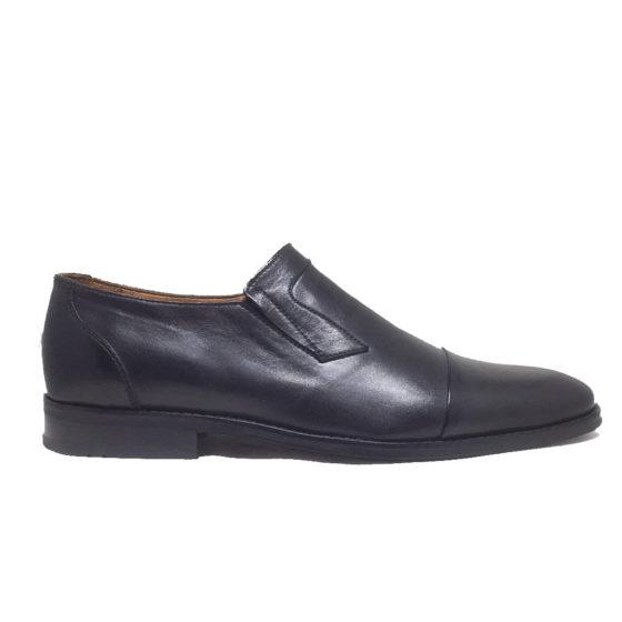 N0022B ERSÖZ Hakiki Deri Siyah Erkek Klasik Ayakkabı