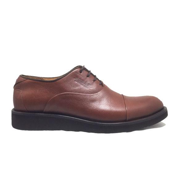 D0025B ERSÖZ Hakiki Deri Kahverengi Erkek Ayakkabı