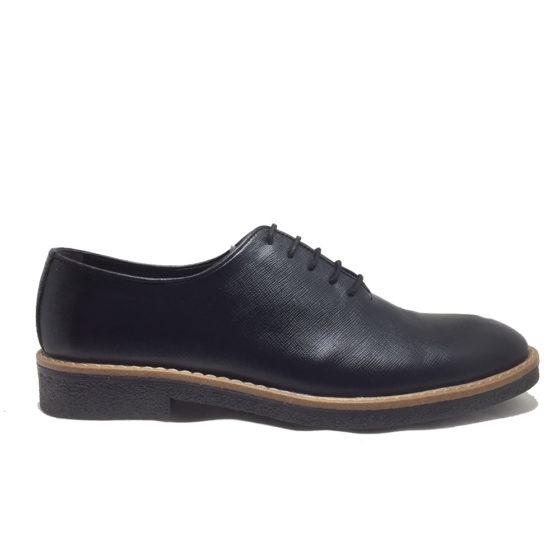 K0011B ERSÖZ Hakiki Deri Siyah Erkek Ayakkabı