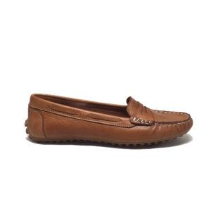 ERSÖZ 0120 Hakiki Deri Taba Kadın Ayakkabı
