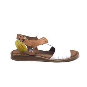 Mammamia D20YS-1450 Beyaz Kadın Sandalet