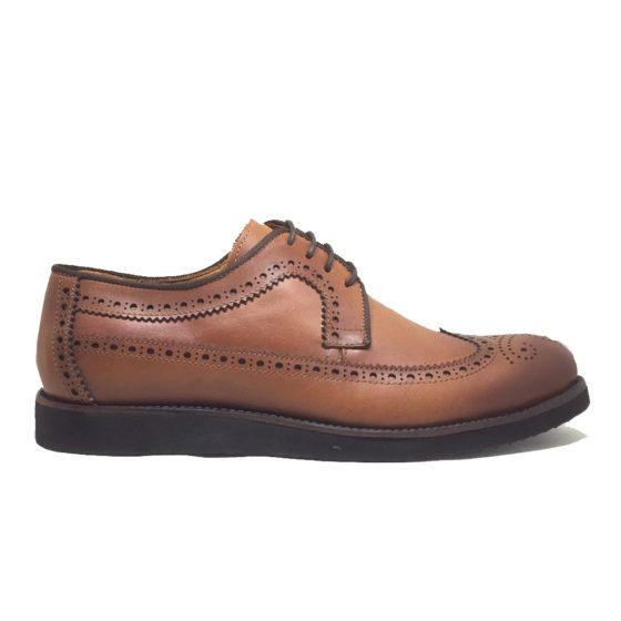 W0010B ERSÖZ Hakiki Deri Taba Erkek Ayakkabı 39