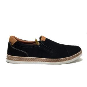 Mammamia D20YA-7045 Siyah Nubuk Ayakkabı