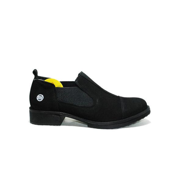 Mammamia D20KA-35 Siyah Nubuk Kadın Ayakkabı