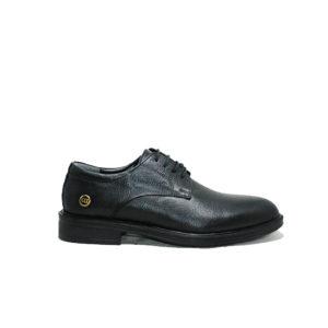 Ersöz Hakiki Deri Siyah Casual Ayakkabı M5005