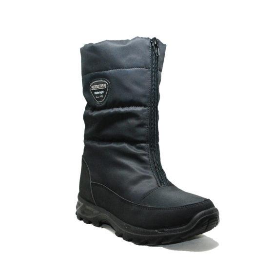 Su Geçirmez Tekstil Siyah Kadın Çizme Z5547