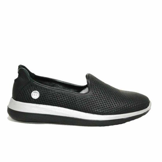 Mammamia D21YA-305 Siyah Kadın Ayakkabı