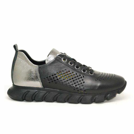 Mammamia D21YA-3280 Siyah Kadın Ayakkabı