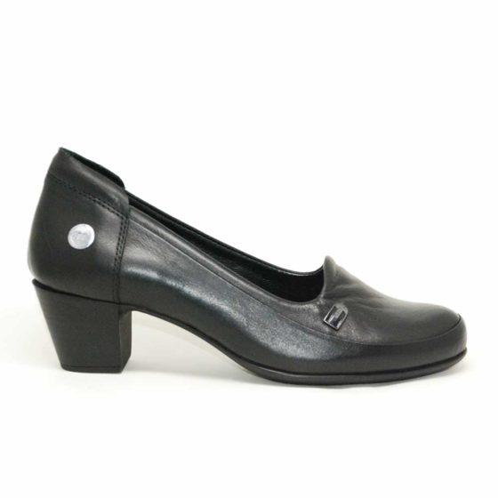 Mammamia D21YA-3360 Siyah Kadın Ayakkabı