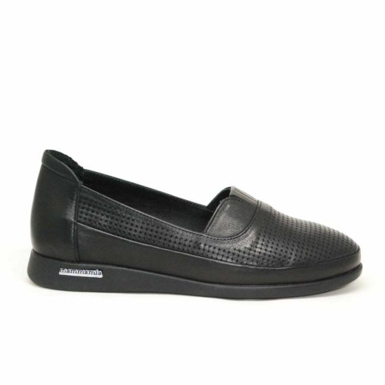 Mammamia D21YA-3120 Siyah Kadın Ayakkabı