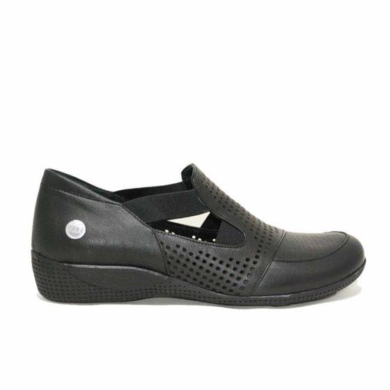 Mammamia D21YA-3055 Siyah Kadın Ayakkabı